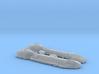 1/2700 Lancer-class Frigate 3d printed