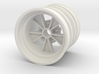 Rear SRB BRM retro wheel 3d printed