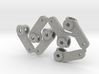 Rubber Tire Steering Arm 3d printed