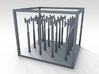 1/200 Royal Navy 12ft Stove Pipes x16 3d printed 3d render showing product description