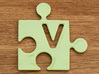"""Puzzle Piece V - """"Love-letters"""" 3d printed"""