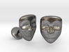 Vendetta Mask Cufflinks 3d printed