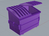 Dumpster 15mm 3d printed