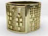 ODITRUPON Ring Size 14 3d printed