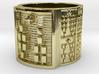 IROSODI Ring Size 1-13 3d printed
