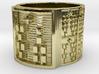 IROSOFUN Ring Size 14 3d printed