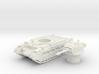 Matilda II tank (British tank)  1/100 3d printed