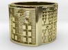 OBARAOGUNDA Ring Size 13.5 3d printed