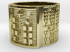 OBARAKETE Ring Size 14 3d printed