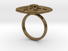 Geometric Flower ZF2 Ring Size 7 3d printed