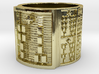 OGUNDALENI Ring Size 11-13 3d printed