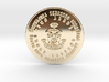 The Fat Cat Lotto Syndicate Coin of 7 Virtues 3d printed