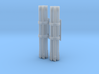 M158A1 Pair Rocket Pods 1/48 Scale (Unloaded) 3d printed