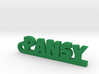 PANSY Keychain Lucky 3d printed