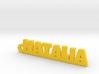 NATALIA Keychain Lucky 3d printed