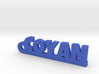 COYAN Keychain Lucky 3d printed