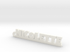 NICOLETTE Keychain Lucky 3d printed