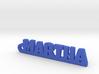 MARTHA Keychain Lucky 3d printed