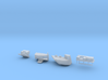 1:700 Scale USS Nimitz 1984-1992 Update Set 3d printed
