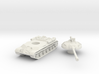 IS-3 Tank (Russian) 1/87 3d printed