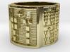OSALONI Ring Size 14 3d printed