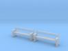 TJ-H04556x2 - bancs de quai en bois 3d printed