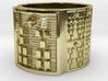 IKAROSO Ring Size 14 3d printed
