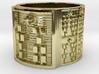 IKATURA Ring Size 14 3d printed