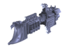 """Imperial Navy """"Endeavour"""" Light Cruiser 3d printed"""
