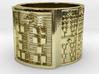OTRUPONADAKINO Ring Size 13.5 3d printed