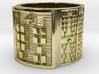 OTRUPONKANA Ring Size 13.5 3d printed