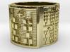 OTRUPONSHE Ring Size 13.5 3d printed