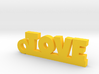 TOVE Keychain Lucky 3d printed