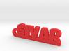 SIVAR Keychain Lucky 3d printed