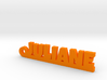 JULIANE Keychain Lucky 3d printed
