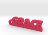 GRACE Keychain Lucky 3d printed