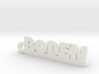 BODEN Keychain Lucky 3d printed