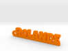 ROLANDE Keychain Lucky 3d printed