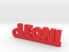 LEONI Keychain Lucky 3d printed
