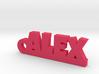 ALEX Keychain Lucky 3d printed