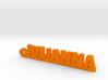 JULIANNA Keychain Lucky 3d printed