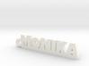 MONIKA Keychain Lucky 3d printed