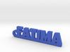 FATIMA Keychain Lucky 3d printed