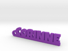 CORINNE Keychain Lucky 3d printed