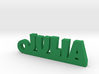 JULIA Keychain Lucky 3d printed