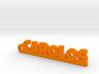 CAROLOS Keychain Lucky 3d printed
