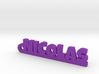NICOLAS Keychain Lucky 3d printed