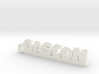 GASCON Keychain Lucky 3d printed