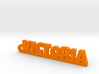 VICTORIA Keychain Lucky 3d printed