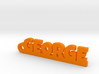 GEORGE Keychain Lucky 3d printed